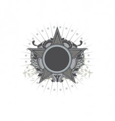 insignia vector image vector image