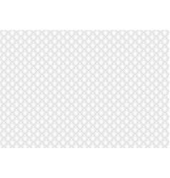 Shiny glossy white mosaic seamless background vector