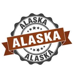 Alaska round ribbon seal vector