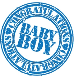 Baboy stamp vector
