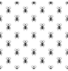 Beetle bug pattern vector