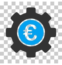 Euro Development Gear Icon vector image