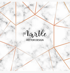 Marble design template for invitation banners vector