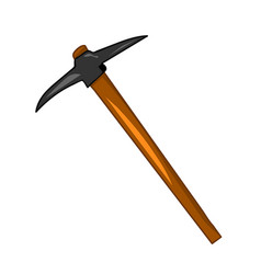pick axe isolated vector image
