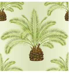 Seamless texture tropical plant palmae date palm vector