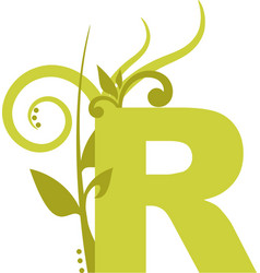 nature r vector image vector image