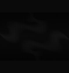 Abstract black halftone design artwork vector
