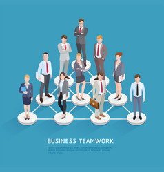Business teamwork concepts business people vector