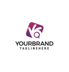 camera photography logo design concept template vector image