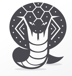 cobra vector image