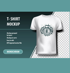 dragon eye t-shirt template fully editable vector image
