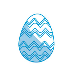 easter egg celebration spring party vector image