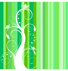 floral background illustration in vector vector image