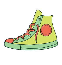 Gumshoes icon vector