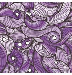 Ink doodle waves vector