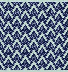 art deco seamless pattern geometrical background vector image