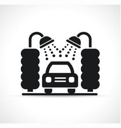 car wash symbol icon vector image
