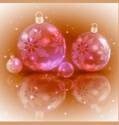Christmas light ocher design with a set of vector