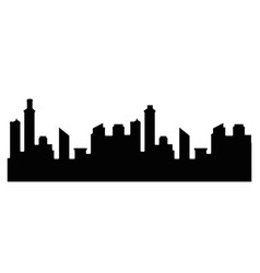 city background symbol vector image