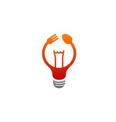 cooking idea logo vector image