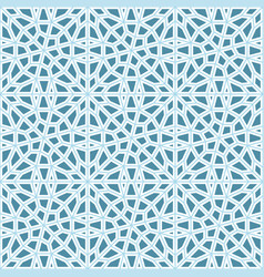 seamless islamic background vector image vector image