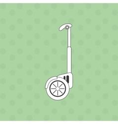 Segway icon design vector