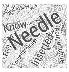 Things you should know about acupuncture word vector