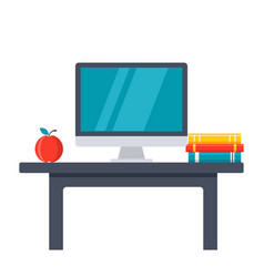 Workplace icon vector