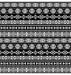 American nativity aztec tribal peruvian vector image