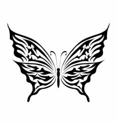 the butterfly vector image
