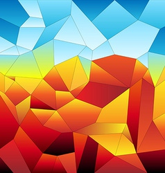 Mosaic tiles-futuristic vector image