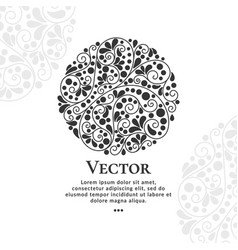 Abstract composition of lines and points vector