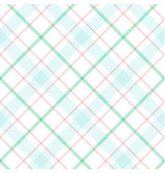classic tartan merry christmas seamless patterns vector image