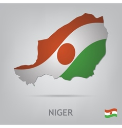 country niger vector image