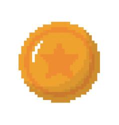 game coin icon vector image