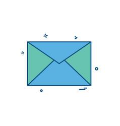 mesasges icon design vector image