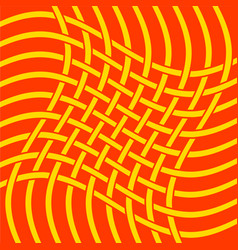 network textile twist vector image