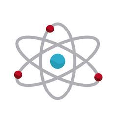atom molecule chemistry science image vector image