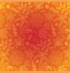 autumn leaf maple vector image