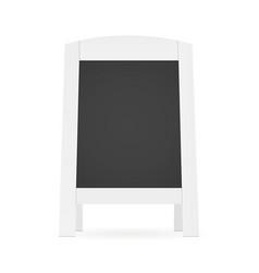 blank street menu vector image