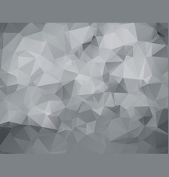 gray triangular abstract background trendy vector image