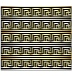 Greek Key Swastika Design vector image