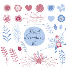 love collection set for cards perfect for vector image