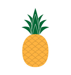 sweet pineaple icon vector image
