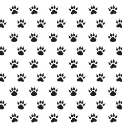 Traces of Dog vector image