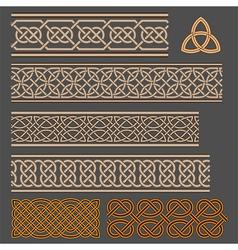 Celtic knots vector image