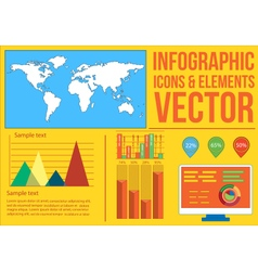 Infographics 3 vector image