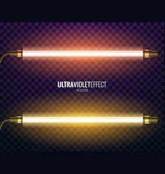 ultraviolet light vector image