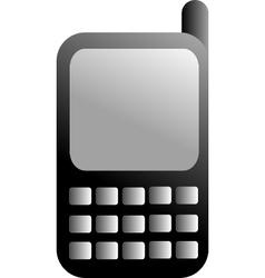 Black GSM icon vector