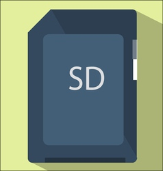 flash card vector image